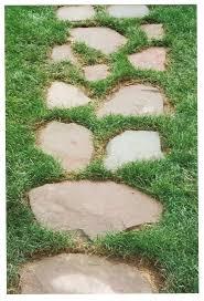 Backyard Walkway Designs - contemporary design walkway stepping stones adorable stone