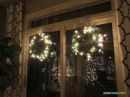 blue christmas blog hop wreaths life on virginia street