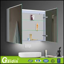 wall mounted multiple polish aluminum bathroom vanity cupboard