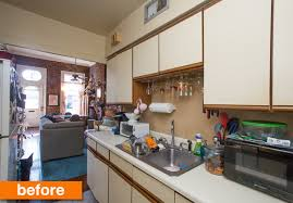 rental kitchen ideas before after kerry s colorful rental kitchen