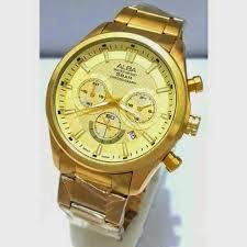 Jam Tangan Alba Emas jual jam tangan alba chrono jam arjuna