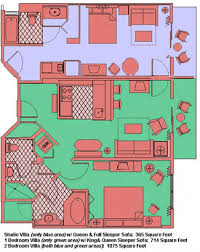 saratoga springs treehouse villas floor plan disney saratoga springs resort and treehouse villas