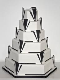 designer wedding cake art deco 6 tier cakeology