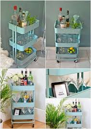 ikea rolling cart 15 clever ikea rolling cart hacks that are simply awesome