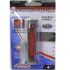 Optronics Led Trailer Lights Boater Sports Boat Led Utility Trailer Light 1054900 4 Inch Red