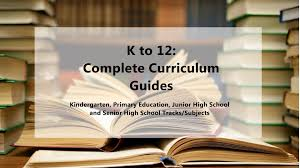 deped k to 12 complete curriculum guides cg 2017