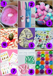 19 easter activities for preschoolers mess for less