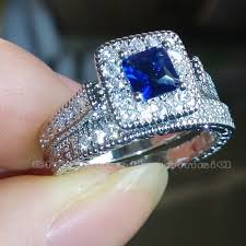 Blue Diamond Wedding Rings by Wedding Rings Sapphire Rings Tiffany Sapphire Wedding Band