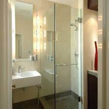 small bathroom design for with shower and glass block loversiq