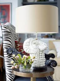 Zebra Print Table Lamp 1100 Best Lamps Images On Pinterest Drum Shade Table Lamps And