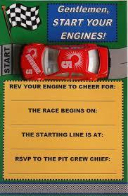 free printable race car birthday party invitations u2026 party ideas