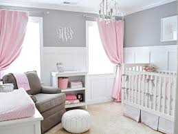 home design nursery ideas for girls pink and grey breakfast nook