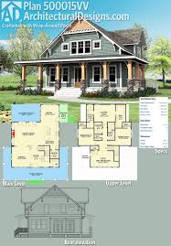 house plans with covered porches plan 500015vv craftsman wrap