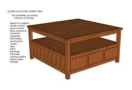 brown square coffee table ana white square solutions coffee table plans diy projects