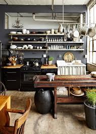kitchen kitchen cabinet lighting industrial style refrigerator