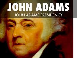 john adams presidency by maple snow