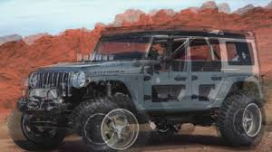 jeep concept cars jeep concept vehicles for 2017 easter jeep safari steve landers