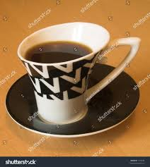 modern coffee cup saucer stock photo 1318240 shutterstock