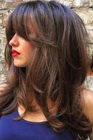 best 10 side swept bangs ideas on pinterest hair with bangs