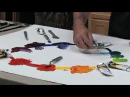 free art lesson steve patterson color mixing youtube