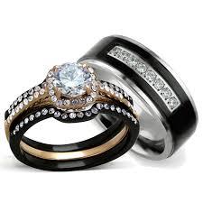 wedding bands sets his and matching wedding ideas wedding ring sets his and hers ideas camo rings