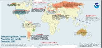World Climate Map by Global Climate Report December 2013 State Of The Climate