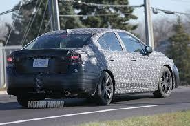 subaru impreza sedan 2017 subaru impreza sedan prototype shows hints of concept model