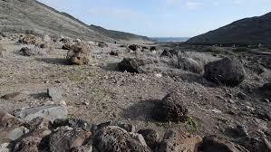 landmannalaugar iceland rugged volcanic glass rocks lava field