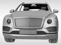 3d bentley bentayga 2017 cgtrader