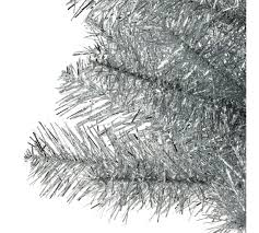 tinsel tree buy home 2ft tinsel christmas tree silver at argos co uk your