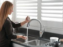 Touch Free Kitchen Faucet Touch Free Faucets Kitchen Fucet Relly Moen Free Kitchen