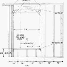 window in plan building a wall 3 three stud corner and windows doityourself com