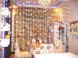Curtains Wedding Decoration Crystal Beaded Curtain Glass Beads Curtain Home Decor Wedding