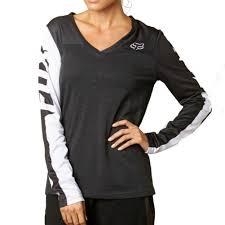 fox motocross t shirts fox racing race women u0027s ladies casual long sleeve shirt jersey top