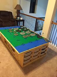 Legos Table Lego Table Goes Awesome Legos