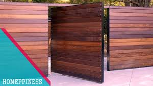 new design 2017 50 modern wood gate fence ideas youtube