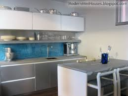 Miniature Dollhouse Kitchen Furniture Modern Mini Houses