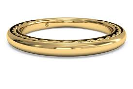 braided wedding bands women s classic braided wedding band in 18kt yellow gold ritani