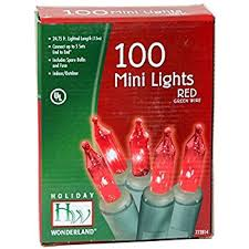 100 count clear light set