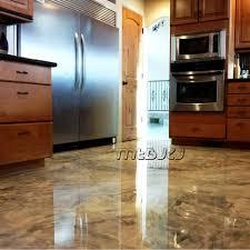 Cement Floor Paint Liquid Epoxy Resin And Hardener For Kitchen Room Cement Floor