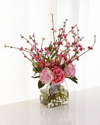Faux Floral Centerpieces by Faux Floral Arrangements At Neiman Marcus