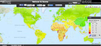 africa map study africa with the lowest average iq in the world study picture