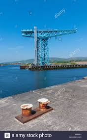 the titan crane at clydebank on the site of the old john brown
