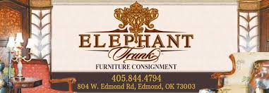 Patio Furniture Edmond Ok by Elephant Trunk Furniture Consignment Home Facebook