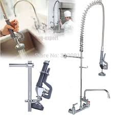 pre rinse kitchen faucets ship from us commercial wall mount kitchen pre rinse faucet w 12