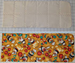 halloween fleece fabric materials needed to sew a microwavable potato sack