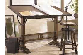 Simple Drafting Table Architect Desks Hammary Studio Home Architect Desk And Adjustable