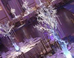 Manzanita Centerpieces Crystal Wedding Tree Centerpieces Manzanita