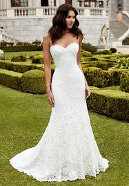 full length mermaid gown with a sweetheart neckline delicate
