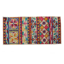 Buy Kids Rug by Pattern Folk Cross Stitch Rug All Oliver Bonas
